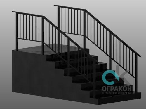 Производство и установка лестничных ограждений в СПб
