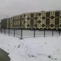 Сварной забор в СПб и Ленинградской области