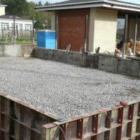 Фундамент под гараж со стеклопластиковой арматурой