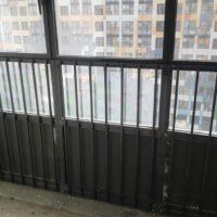 """Изготовление, доставка и монтаж ограждений витражей, балконов (ЖК """"О'Юность"""")."""