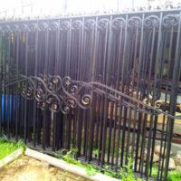 Сварной забор - изготовление и установка в СПб и Ленинградской области