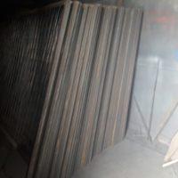 Строительное временное ограждение из уголка и сварной сетки. Ограждение «ТИП 5А, Сигнальное», 150 шт.