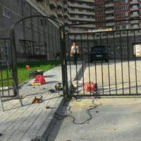 Сварное ограждение, с калитками, распашными воротами в Санкт-Петербурге