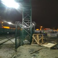 Поставка и монтаж комплекта ограждения из сварной 3d сетки с СББ АКЛ «Егоза». Морской Рыбный порт, участок 3.