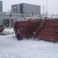 Поставка строительного передвижного временного ограждения СПО-1600, ИСО-2.