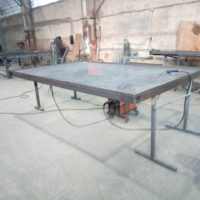 Производство секций ограждения из уголка и сварной сетки СО (495 шт.)