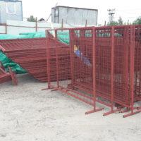 Поставка строительного переносного временного ограждения СПО-1600, ИСО-2.