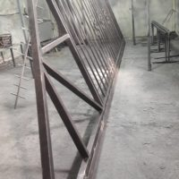 Производство и монтаж сварного забора и откатных ворот