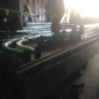 Изготовление столбов-опор и их монтаж на винтовых сваях для последующей установки видеонаблюдения и электрооборудования.