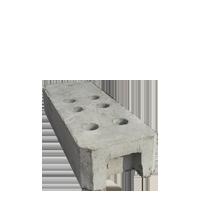 Ограждения на бетонных блоках в СПб и Ленинградской области