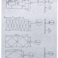 Производство комплекта газонного ограждения по эскизу заказчика.