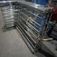 Производство уличных разборных переносных ограждений из нержавеющей стали.